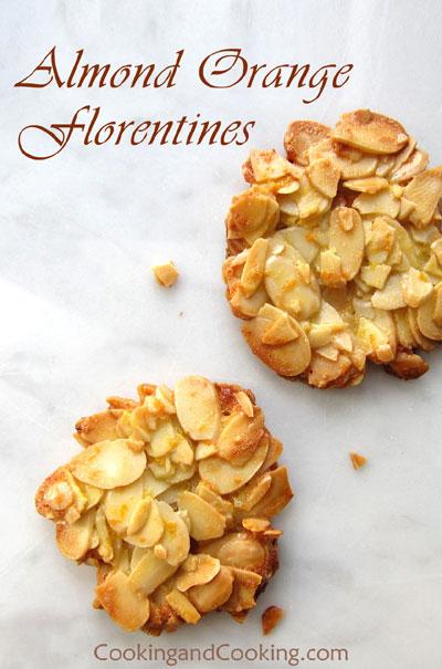 Easy almond florentines recipes