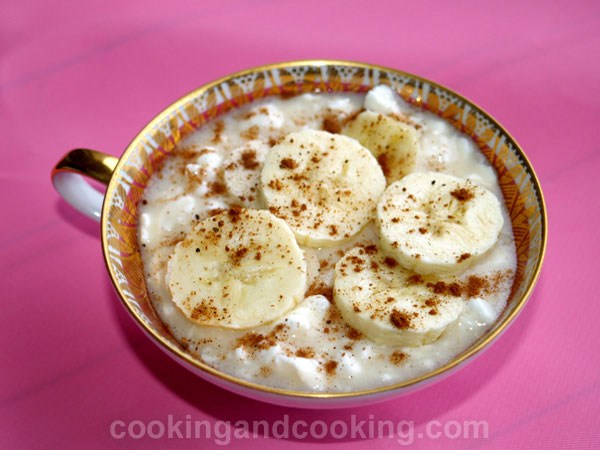 Banana Cottage Cheese