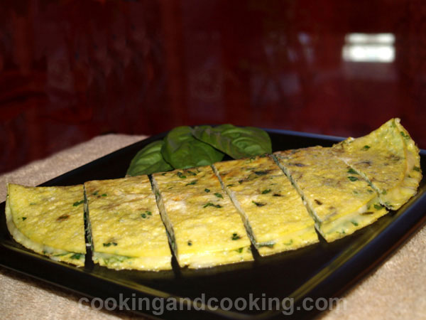 Basil and Parsley Omelette