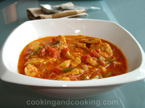 Bell Peppers Chicken Stew