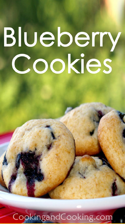 Blueberry-Cookies