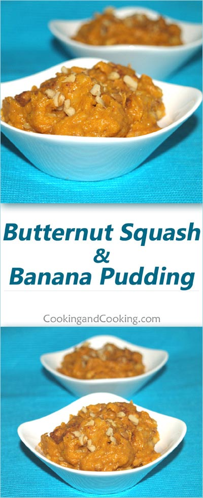 Butternut Squash and Banana Pudding Recipe, Healthy ...