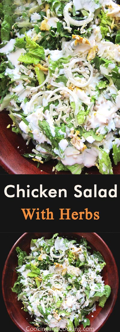 Chicken Salad with Herbs