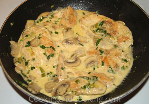mustard and chicken with tarragon mustard tarragon and mustard sauce ...