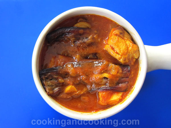 Chicken And Eggplant Stew Eggplant Recipes Cooking And