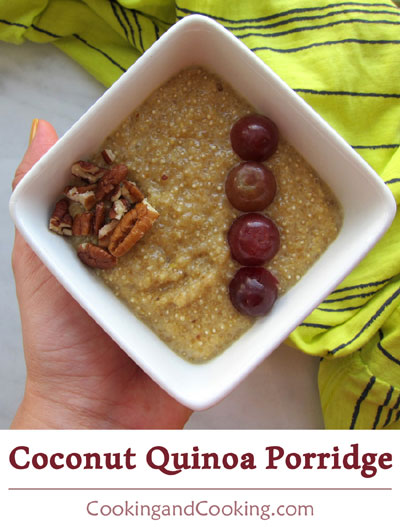 Coconut Quinoa Porridge