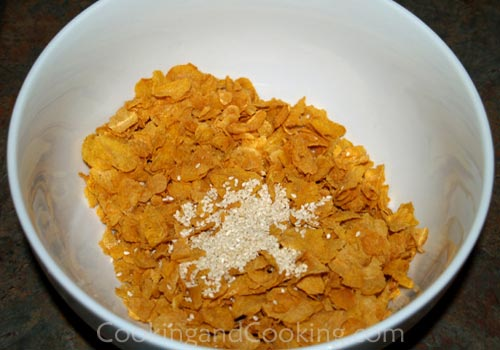 Corn Flakes Peanut Butter Snacks