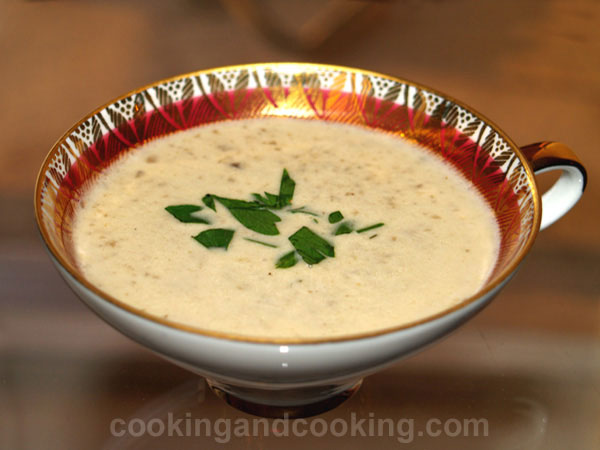Cream of Mushroom Soup title=