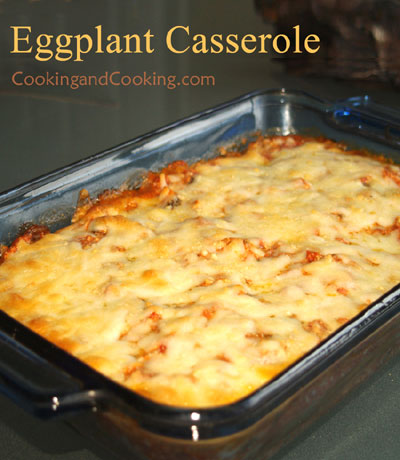 Eggplant Casserole Casserole Recipes Cooking And Cooking