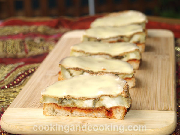 Eggplant and Cheese Melt