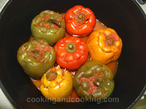 Green Pepper Dolma ... title=