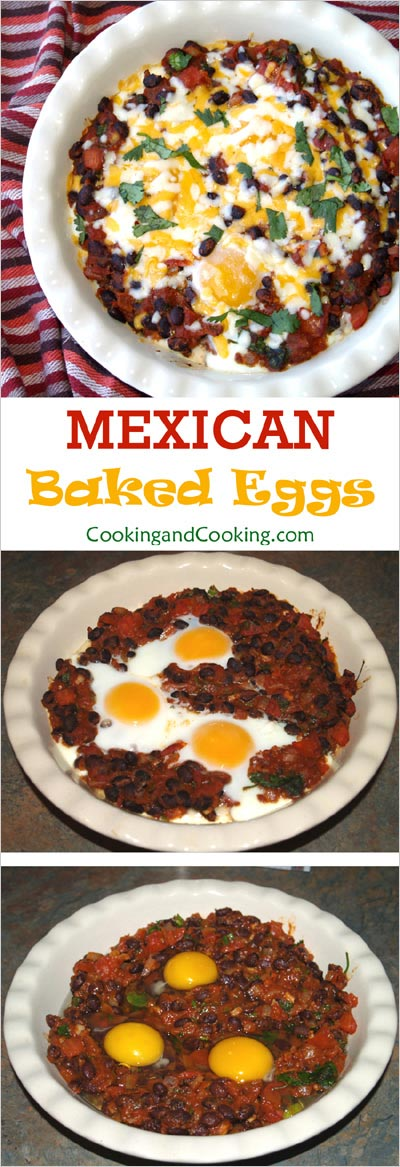 Mexican Baked Eggs Recipe, Mexican Breakfast | Cooking and Cooking