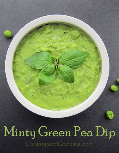 Minty Green Pea Dip