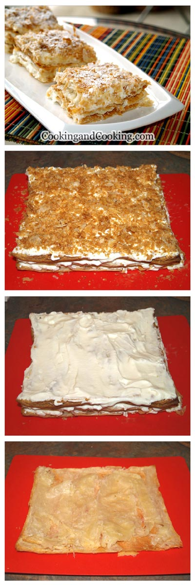 Napoleon cake recipe persian
