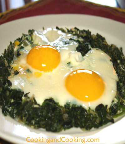 Nargesi Esfenaj, Persian Egg and Spinach