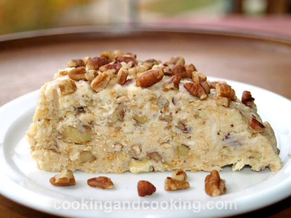 No Bake Nuts Cake