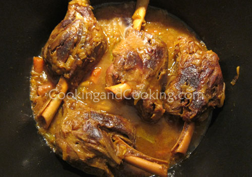 Persian Lamb Shanks