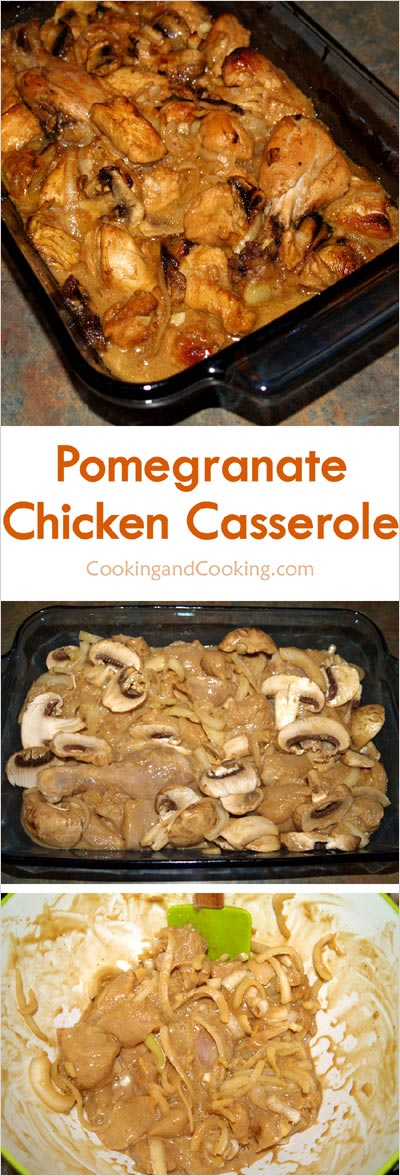Pomegranate-Chicken-Casserole