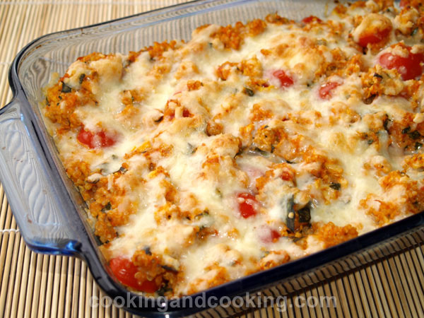 Quinoa and Chicken Casserole