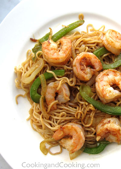 Shrimp Chow Mein Chinese Recipes Cooking And Cooking