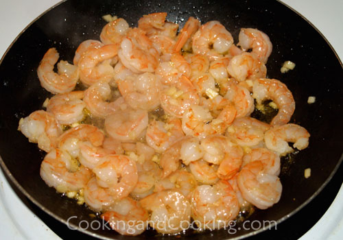 Spicy Shrimp with Soy Sauce