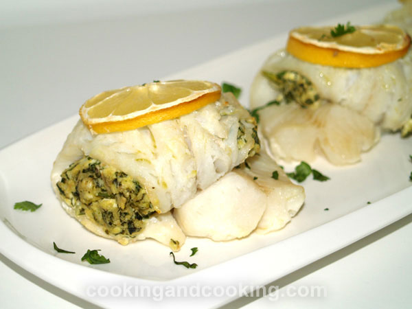 Stuffed Fish Fillet Stuffed Seafood Recipes Cooking