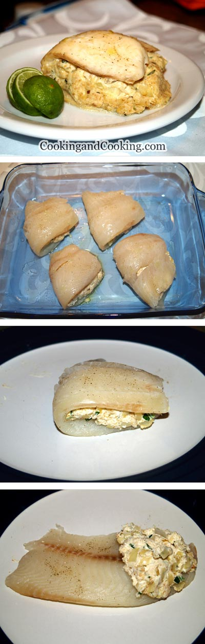 Stuffed Tilapia